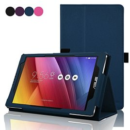 ACdream-Asus-Zenpad-70-Case-Protective-Folio-Premium-PU-Leather-Cover-Case-for-ASUS-ZENPAD-Z170C-A1-BK-7-Tablet-2015-Version-Will-Not-Fit-Other-Devices-Dark-Blue