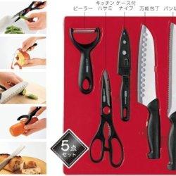 Japanese Tosho Kanamori Cutlery Set 5 Piece