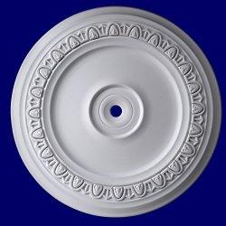 Gaudi Décor 24 Inch Ceiling Medallion Primed White Polyurethane Egg & Dart #R311