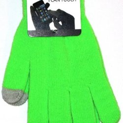 Texting Glove For All Touch Screen Devices - Iphone, Ipad, Samsung - Green