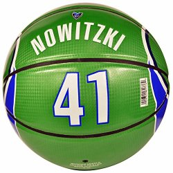 Spalding Nowitzki Under Glass Away Jersey Basketball