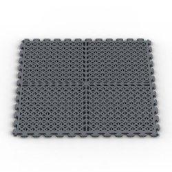 Norsk-Stor Nsmpvn6Dg Vented Multi-Purpose Pvc Flooring, Dove Gray, 6-Pack