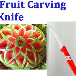 """""""Click Thai""""!! Peeler Fruit And Vegetable Carving Knife Blade Culinary Art Tool"""