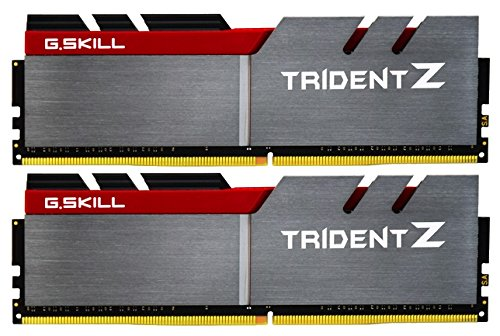 G.SKILL 16GB (2 x 8GB) TridentZ Series DDR4 PC4-25600 3200MHz for Intel Z170 Platform Desktop Memory Model F4-3200C16D-16GTZ