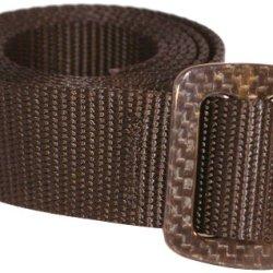 Bison Designs 30Mm Web Carbonator Belt With 100-Percent Carbon Fiber Buckle (Black, 42-Inch Maximum Waist/Large)