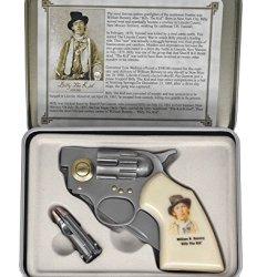 Billy The Kid Revolver Knife & Bullet Knife Gift Set
