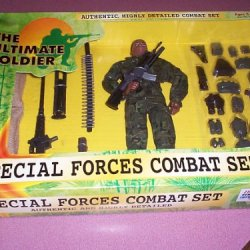 """The Ultimate Soldier Special Forces Combat Set With 12"""" African American Action Figure"""