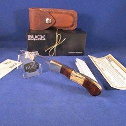 Buck B 532 Custom Bucklock Knife Limited Edition Rare Mint In Box 0532Itsle