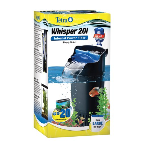 Tetra 25817 Whisper In Tank Filter with BioScrubber, 10 to 20 Gallon