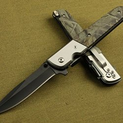 Outdoor Survival Camping Pocket Rescue Folding Knife -8.85''