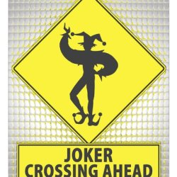 Batman Joker Sign / Retro Wall Decor Collectible Kids Room Funny Art 330