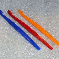 Tupperware Citrus Peelers Orange Blue Red Set Of 3