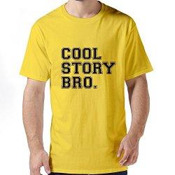 Vintage Cool Story Bro Hq Mens T Shirt