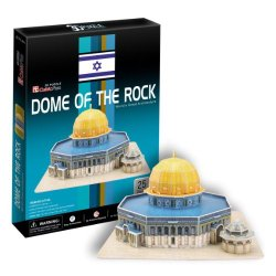 Ezhishop Us Dome Of The Rock Diy 3D Puzzle Model Toy-25 Pieces