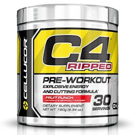 Cellucor-C4-Ripped-Preworkout-Thermogenic-Fat-Burner-Powder-Preworkout-Energy-Weight-Loss-18-g-634-oz-3-Servings-Cherry-Limeade