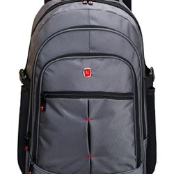 Victoriacross Business And Casual Travel Gear Laptop Daypack Backpack. Ipad Teblet Sports Outdoor School. Journey Trip Camping Bag Hiking.Fashion Macbook Computer Notebook -Vc6010V-S1 Grey