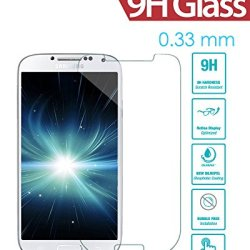 Galaxy S4 Screen Protector, Irag® 0.33Mm 9H Premium Tempered Glass Screen Protector For Samsung Galaxy S4 From Drops, Scratches And Shatterproof