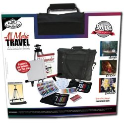 Royal & Langnickel All Media Travel Artist Set