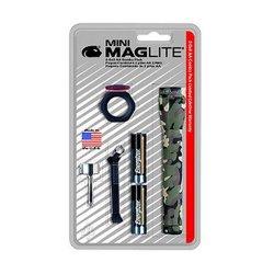 Mini Maglite Aa Combo Pack Blister Camo