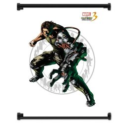 Marvel Vs Capcom 3 Spencer Game Fabric Wall Scroll Poster (32X42) Inches