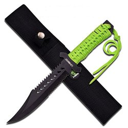Z-Hunter Knives 103 Fixed Blade Green Cord
