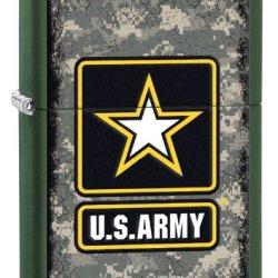 Zippo Army Lighter, Green Matte