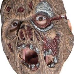 Rubie'S Costume Friday The 13Th Jason Voorhees Latex Mask, Multicolored, One Size