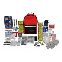 Ready America 70285 3 Day Backpack Grab N Go Deluxe Emergency Kit For 2 Person