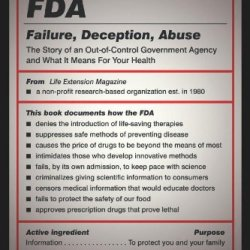 Fda: Failure, Deception, Abuse: The Story Of An Out-Of-Control Government Agency And What It Means For Your Health