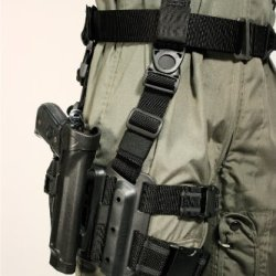 Blackhawk! Serpa Level 2 Tactical Black Holster, Size 04, Left Hand, (Beretta 92/96/M9 Std Or A1 W/Rails (Not Brig/Elite)