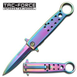 Tac Force Tf-641Rb Tactical Folding Knife 4.5-Inch Closed