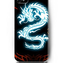 Case For Iphone 4S 4 , Ukase Protective Snap On Case Skin With Elegant Design Of Glowing Dragon