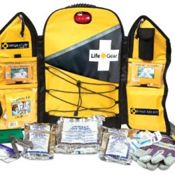 Life Gear Wings Of Life Emergency Survival Kit & Yellow Backpack