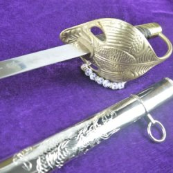 Ceremonial Sword Sale Stainless Steel Blades Saber Mounted Police Straight Knife