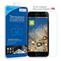 Iphone 6 Screen Protector, Jetech® Premium Tempered Glass Screen Protector For Apple Iphone 6 4.7""