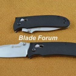 Ganzo G704 Folding Knife Axis Lock 440C Blade G10 Handle Clip & Lanyard Hole