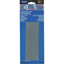 """Norton Economy Tool And Knife Abrasive Sharpener, 6"""" X 2"""" X 3/4"""" Size, Grit Combination"""