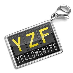 Neonblond Yzf Airport Code For Yellowknife - Charm Lobster Clasp Clip On
