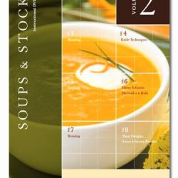 Kitchencue Instructional Dvd, Volume 2, Soups And Stocks