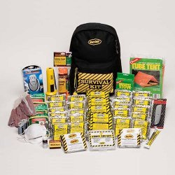 Deluxe Emergency Backpack Kits : 3 Person