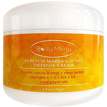We put our skin and body through a lot which often means unwanted marks and scars. Body Merry's Stretch Marks & Scars Defense Cream uses natural and effective ingredients that penetrate deep into your skin and deliver the highest levels of moisture. ...