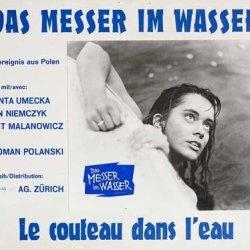 Knife In The Water 1962 Original Switzerland Scene Card Roman Polanski Leon Niemczyk