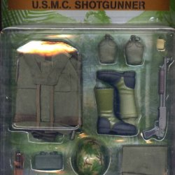 "12"" Ultimate Soldier Vietnam U.S.M.C. Marine Corps Shotgunner Action Figure Accessary Outfit 1:6 Scale (1997)"