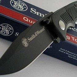 Smith & Wesson Bullseye Pocket Folder Black Knife Sw0014