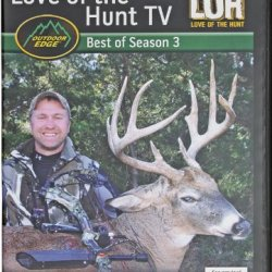 Love Of The Hunt Best Of Season 3 ~ Brad Lockwood ~ Big Game Hunting Action Dvd