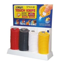 Olfa Touch Knives With Display