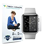 Apple Watch Screen Protector, Tech Armor Apple Watch (38mm) High Defintion (HD) Clear Screen Protectors - Maximum Clarity and Touchscreen Accuracy [3-Pack] Lifetime Warranty