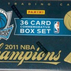 2010 / 2011 Panini Dallas Mavericks Nba Champions 36 Card Boxed Gift Set Including Dirk Nowitzki, Jason Kidd, Jason Terry, Tyson Chandler And More!