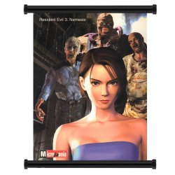 """Resident Evil 3 Nemesis Game Fabric Wall Scroll Poster (31"""" X 42"""") Inches"""