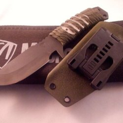 Medford Knife And Tool D-Fm2 Fighting Knife Od Para-Cord
